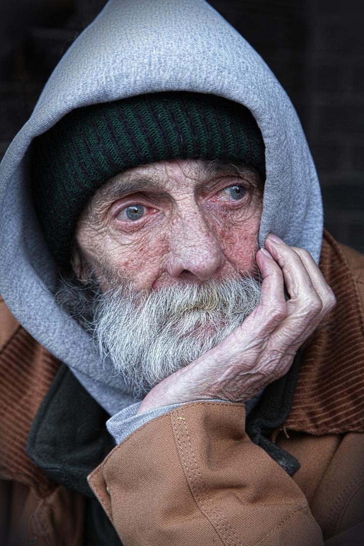 A homeless heart.